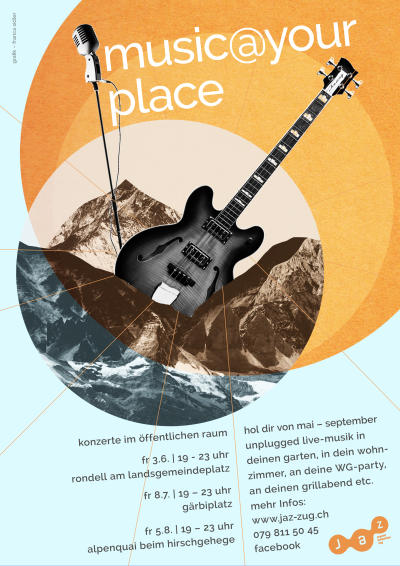 Flyer music@your-place goes BBK