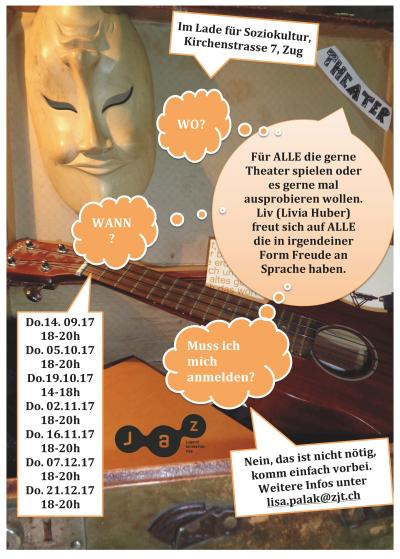 Flyer Theaterworkshop