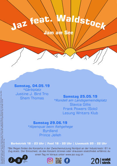 Flyer Jaz feat. Waldstock - Jam am See