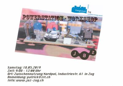 Flyer Powerstation Workshop