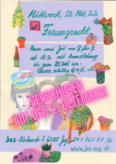 Flyer Verschoben: Frauenznacht in der industrie45
